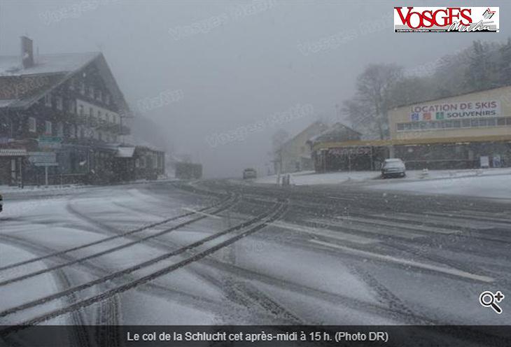 Image d'illustration pour Retour de la neige à basse altitude dans le Nord Est