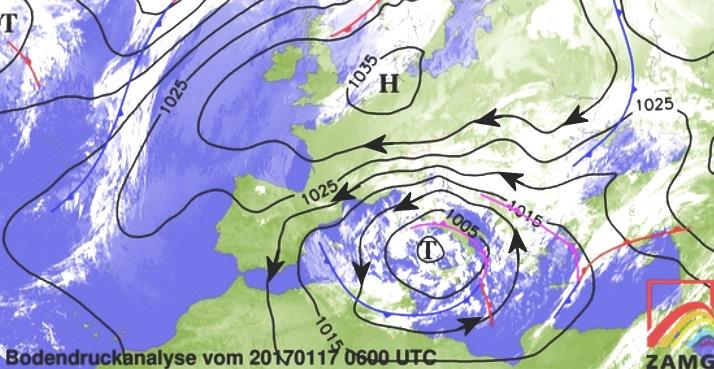 Image d'illustration pour Neige abondante au Maghreb et en Corse