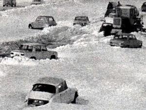 Image d'illustration pour Fin décembre 1970 : chaos sous la neige en vallée du Rhône
