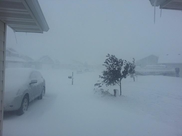 Image d'illustration pour Neige et blizzard aux Etats-Unis