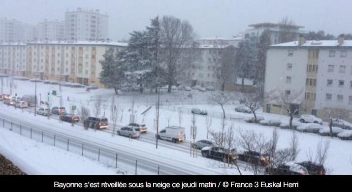 Image d'illustration pour La neige clôt la vague de froid et précède le redoux