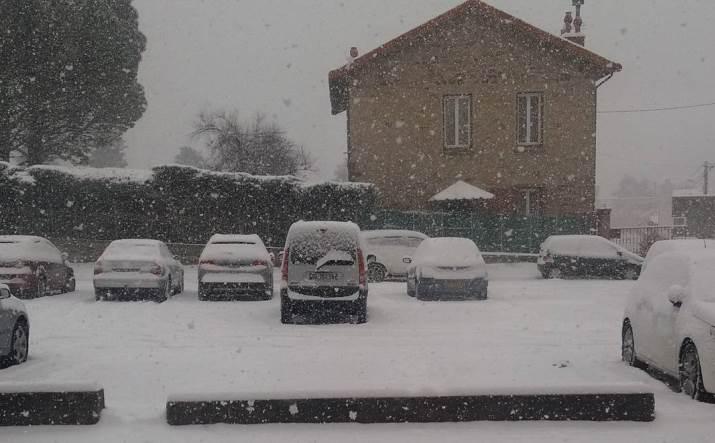 Image d'illustration pour Neige de la vallée du Rhône aux Cévennes