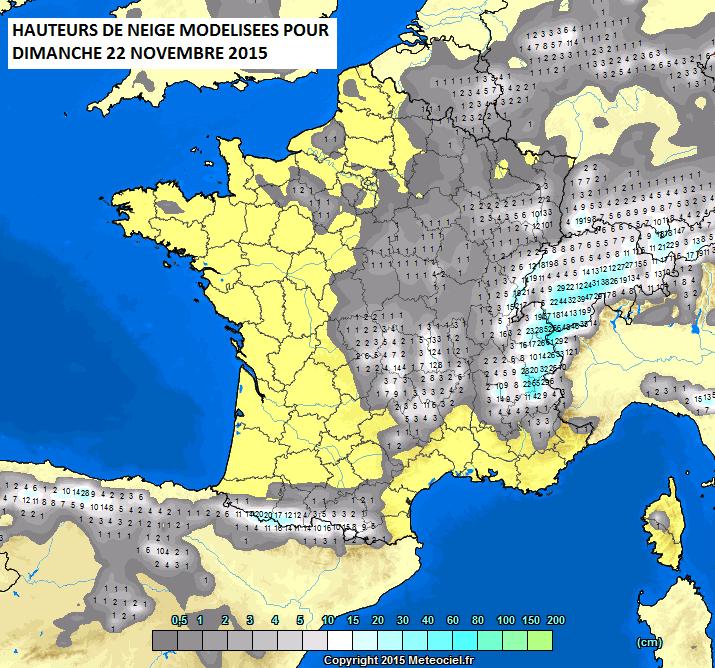 Image d'illustration pour De l'automne à l'hiver le week-end prochain avec neige en plaine ?