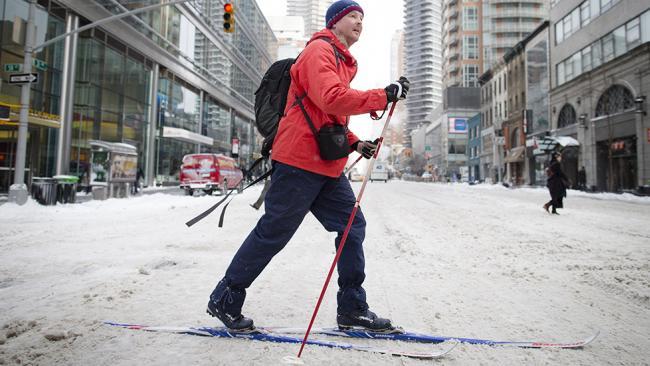 Image d'illustration pour Vague de froid et neige aux Etats-Unis