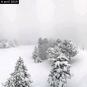 Image d'illustration pour Retour de la neige et des avalanches en montagne
