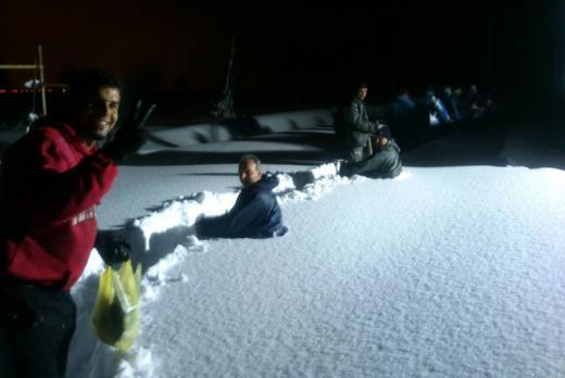 Image d'illustration pour Tempête de neige en Iran : un village sauvé grâce à Facebook