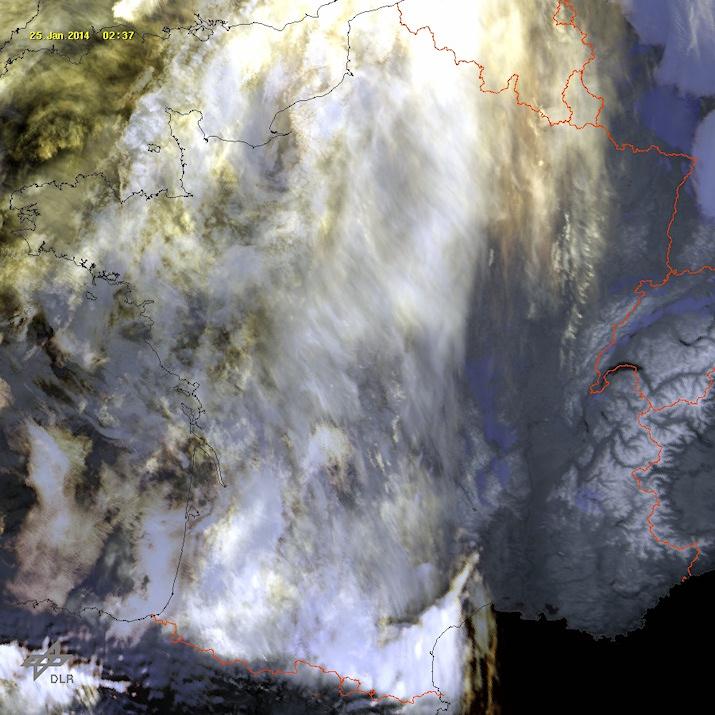 Image d'illustration pour Neige et verglas du Massif Central au Centre Est