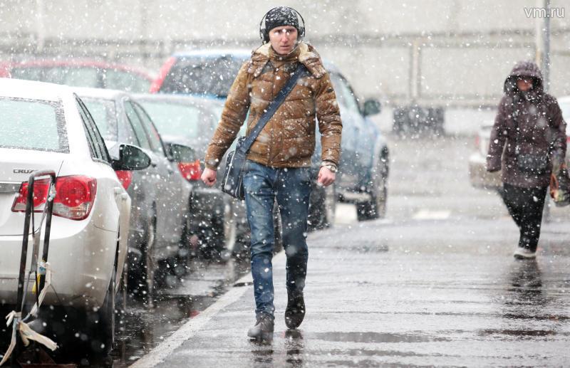 Image d'illustration pour Première neige de la saison à Moscou en Russie