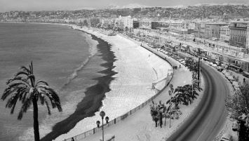 Image d'illustration pour Plus de 30 cm de neige sur la Côte d'Azur en janvier 1985