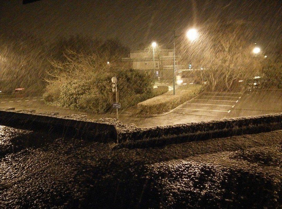 Image d'illustration pour Crue de la Lys, orage et neige sur le Nord Pas de Calais