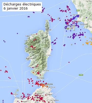 Image d'illustration pour Vent, orage et neige en Corse