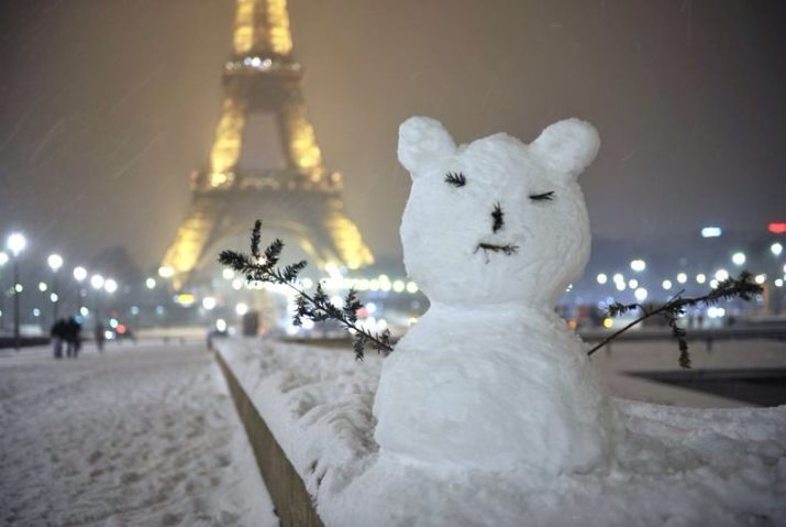 Image d'illustration pour La neige à Paris : toute une histoire