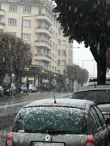 Image d'illustration pour Neige à Paris et en Ile-de-France la plus précoce depuis 1980