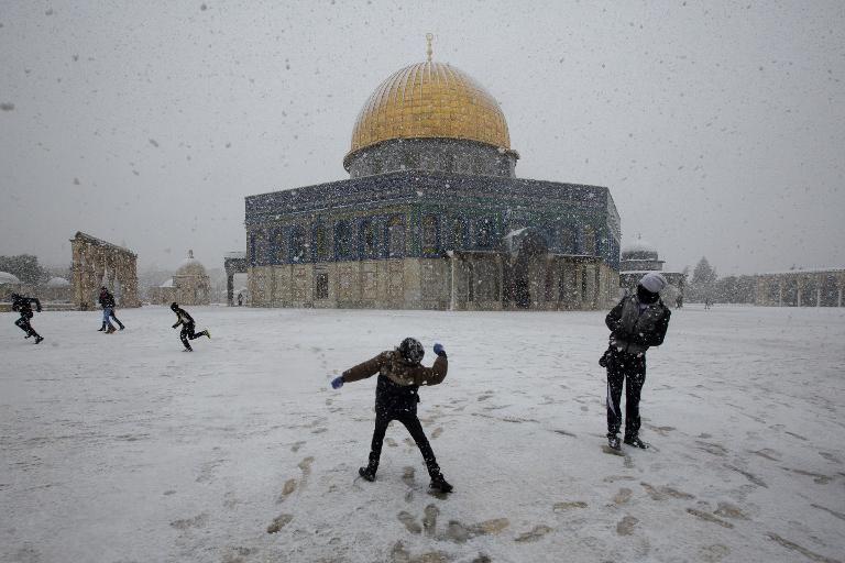 Image d'illustration pour Neige et froid remarquables sur le Proche Orient