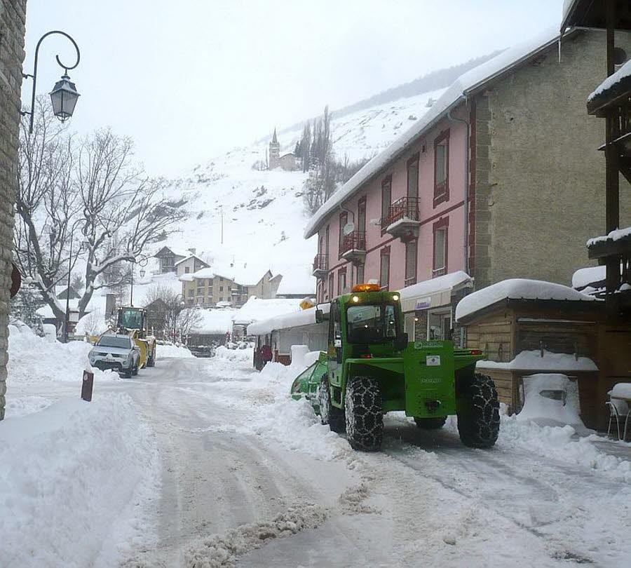 Image d'illustration pour Plus d'un mètre de neige en 3 jours par retour d'Est sur le Queyras