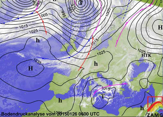 Image d'illustration pour Nouvelles chutes de neige vers le Nord-Est