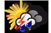 Image d'illustration pour EURO FOOT 2012 : prévisions météo pour le match France-Ukraine ce vendredi 15 juin
