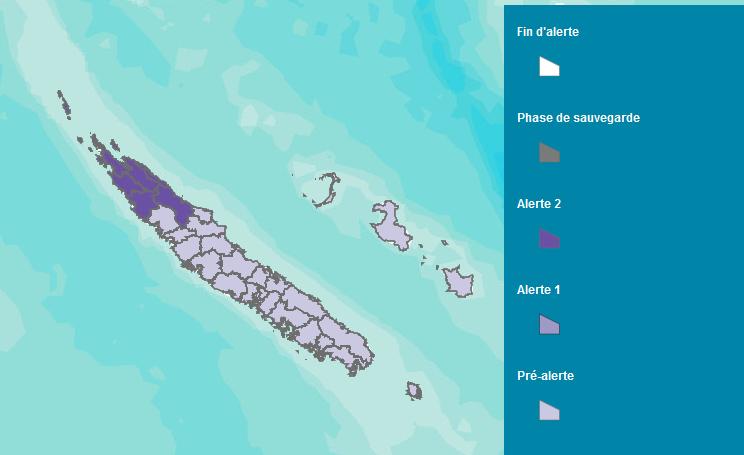 Image d'illustration pour Alerte cyclonique en Nouvelle Calédonie