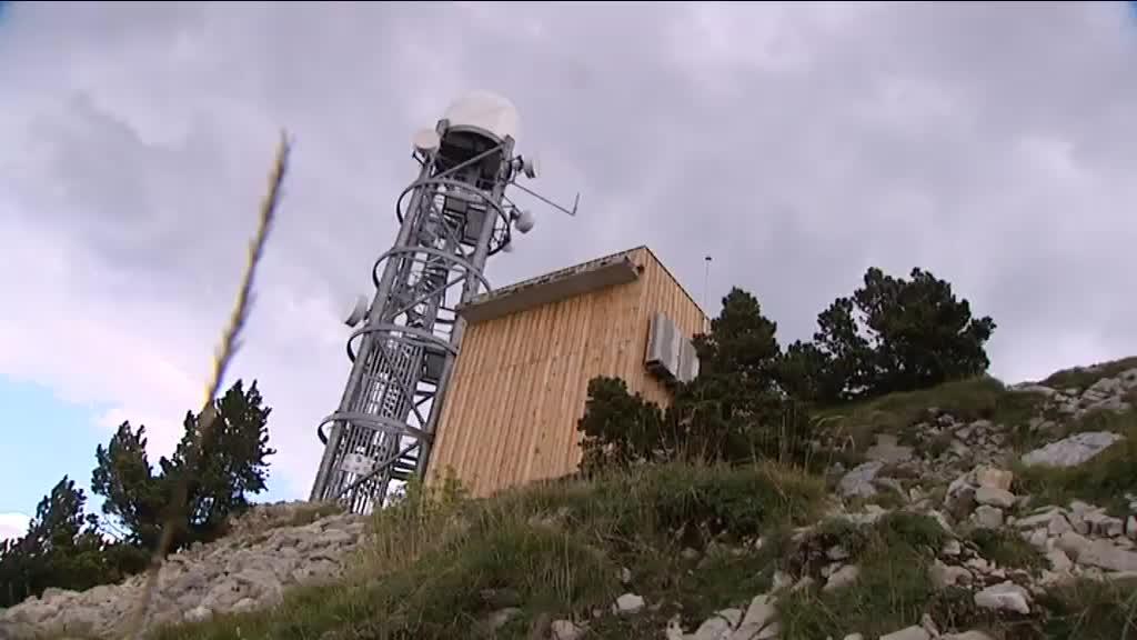 Image d'illustration pour Un nouveau radar météo pour détecter les pluies au-dessus de Grenoble