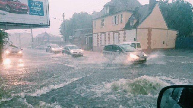Image d'illustration pour Les violents orages tournent au drame