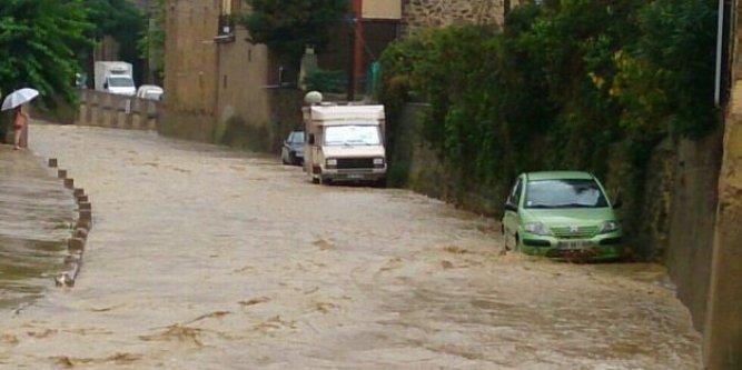 Image d'illustration pour Orage très pluvieux, inondations et possible tornade en Languedoc Roussillon