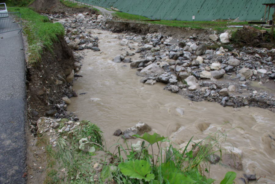 Image d'illustration pour Orage, foudre et coulées de boue en Rhône-Alpes