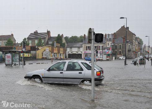 Image d'illustration pour Orages et inondations entre Centre, Bourgogne et Franche Comté