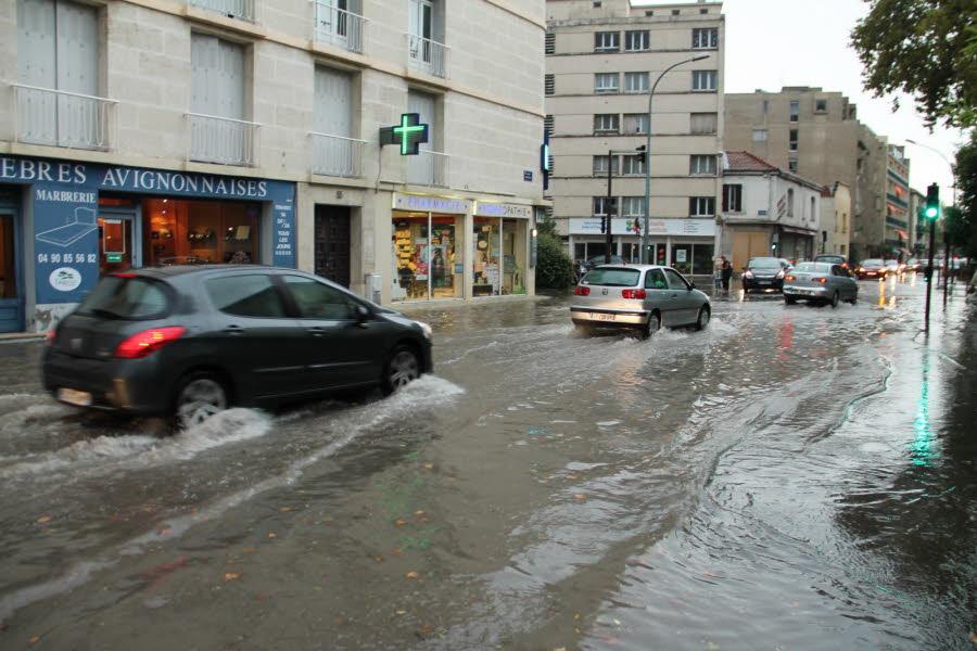 Image d'illustration pour Orages : inondations en Avignon - probable tornade à Plan de Campagne