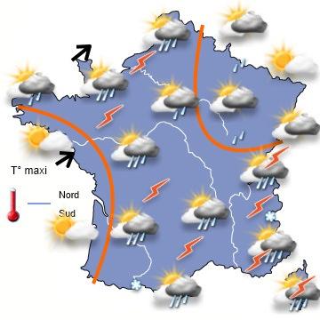 Image d'illustration pour Orages forts sur le Nord Pas de Calais, en Belgique et en Allemagne