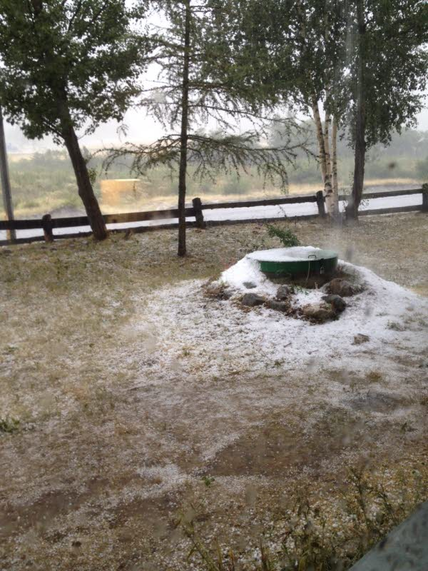 Image d'illustration pour Orage violent : foudre, grêle et coulées de boue après les fortes chaleurs