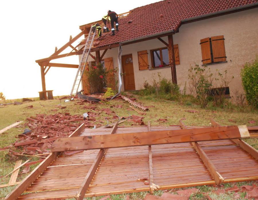 Image d'illustration pour Dépression Zeljko : orage violent, tornade et foudre meurtrière