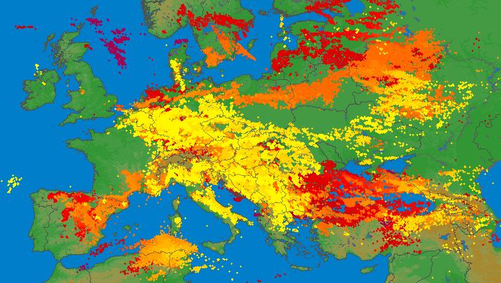 Image d'illustration pour Violents orages en Allemagne et sur le Nord-Est de la France