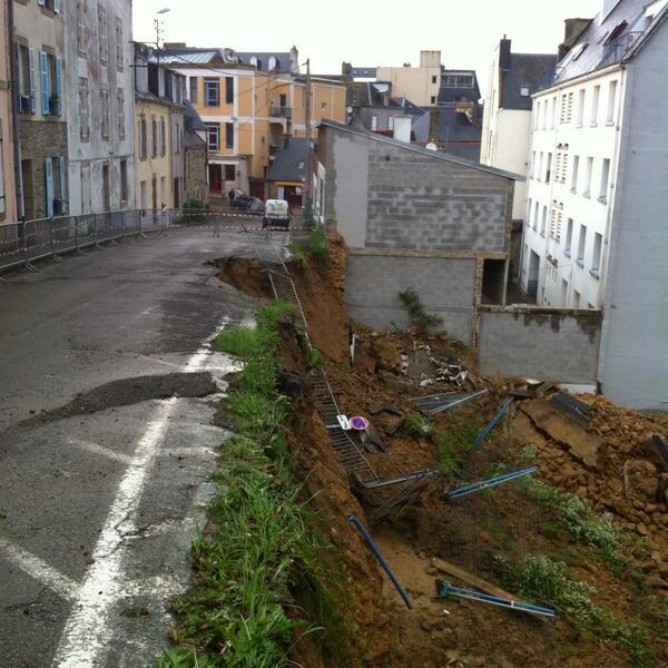 Image d'illustration pour Orage fort en Bretagne - ligne SNCF coupée dans le Finistère