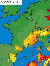 Image d'illustration pour Orages isolés pendant la canicule - Crue mortelle en Corse
