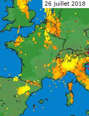 Image d'illustration pour De nouveaux orages fin juillet après un semestre record