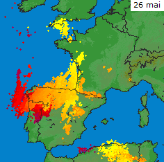 Image d'illustration pour Les orages de la fin mai se prolongent début juin