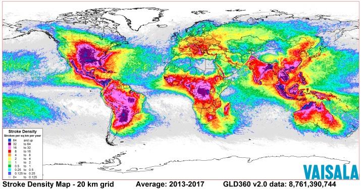 Image d'illustration pour Les secteurs les plus orageux en France et dans le Monde