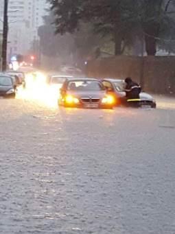Image d'illustration pour Inondations urbaines sous orage stationnaire à Angers