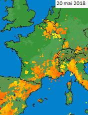 Image d'illustration pour Violents orages et inondations en ce début juin