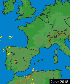 Image d'illustration pour Des orages de printemps de plus en plus forts
