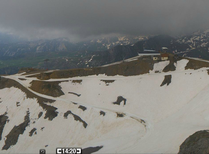 Image d'illustration pour Orages sur les Alpes : foudre, grêle et neige