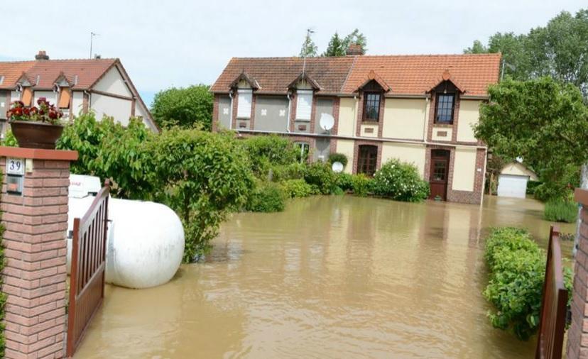 Image d'illustration pour Orage et coulée de boue en Seine Maritime