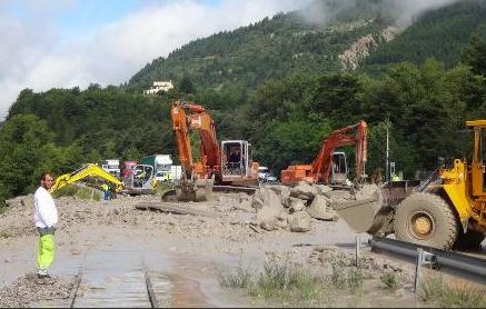 Image d'illustration pour Orage fort sur les Alpes Maritimes - Crues subites près de Grasse
