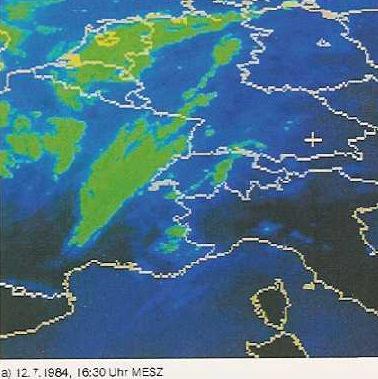 Image d'illustration pour Orages des 11 & 12 juillet 1984 en France et en Allemagne