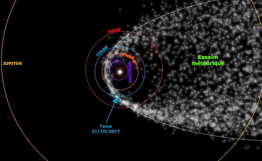 Image d'illustration pour Orionides : pluie d'étoiles filantes ce week-end