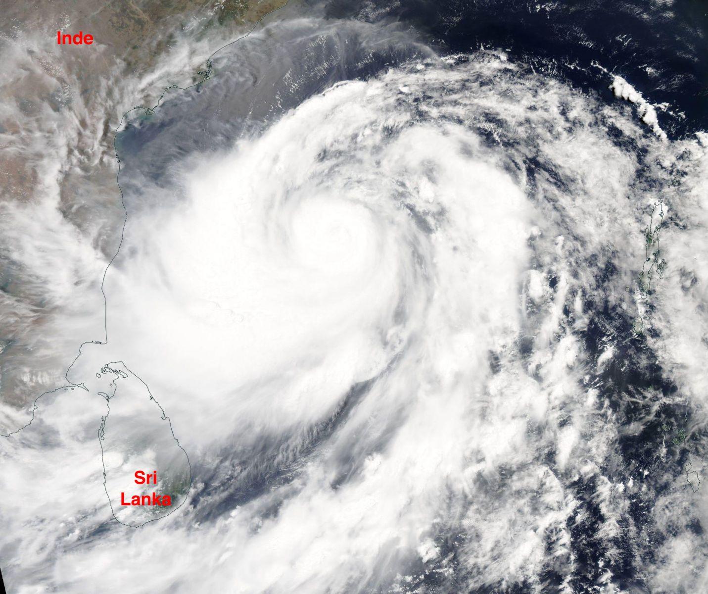 Image d'illustration pour Cyclone Fani : forte menace pour l'Est de l'Inde et le Bangladesh