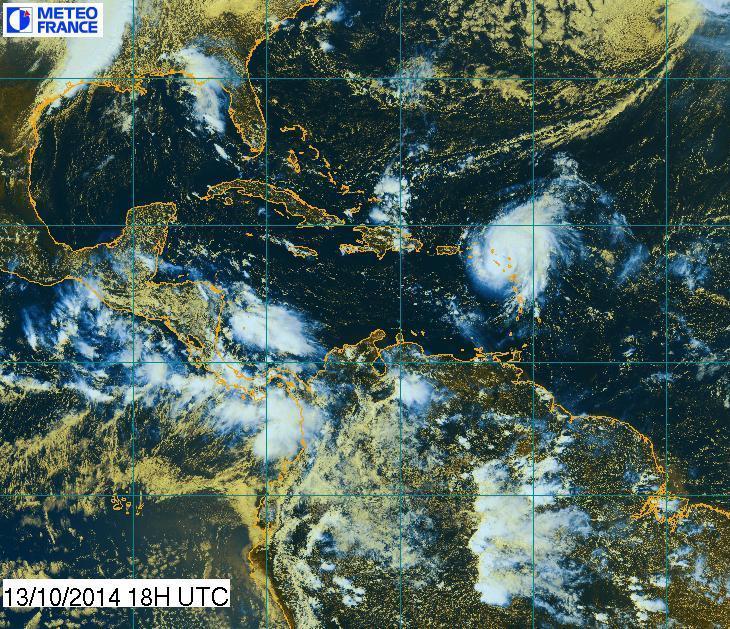 Image d'illustration pour Ouragan Gonzalo : Antilles - Bermudes - Terre Neuve - Europe