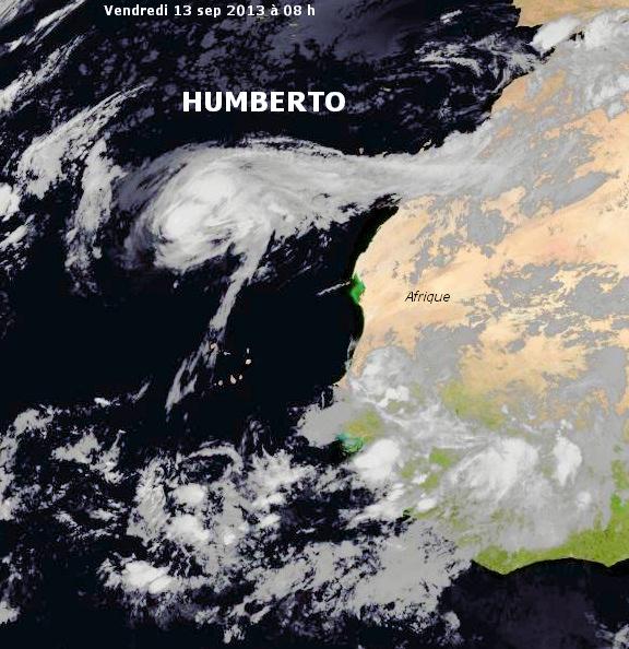 Image d'illustration pour Ouragan Humberto (Cap Vert - Atlantique)