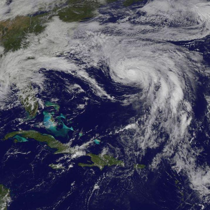 Image d'illustration pour Ouragan Joaquin près des Bermudes puis vers l'Europe