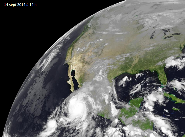 Image d'illustration pour Alerte cyclonique au Mexique face à l'ouragan Odile